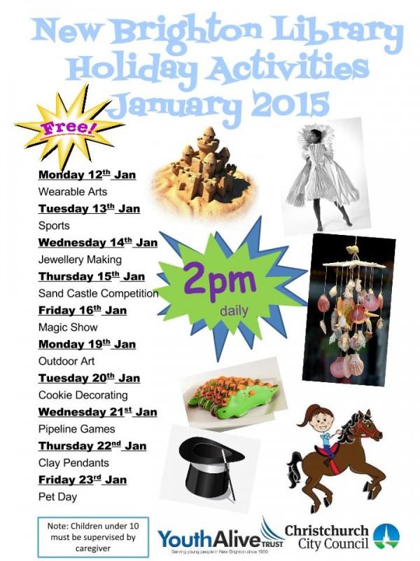New Brighton Library Jan 2015 Poster